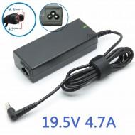 Зарядное устройство AC-N212 для ноутбука Sony 90W (19,5В/4,74А), разъём 6,5*4,5